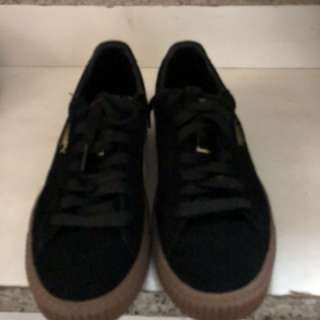 PUMA焦糖厚底鞋(喜歡可議)