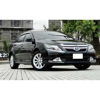 2012年 CAMRY 2.5油電 黑內裝 公司車首選 全額貸 貸款熟手
