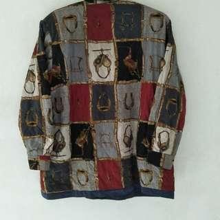 Vtg Riversible Jacket unknown brand