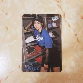 Twice 金多賢 DAHYUN yes card