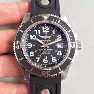 GF工廠 百年靈 Breitling 44mm GF工廠百年靈 最頂級 黑色 watch 面交