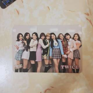 Twice (all) Yes! card