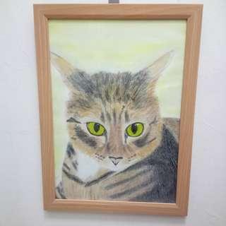 Fat Cat Painting