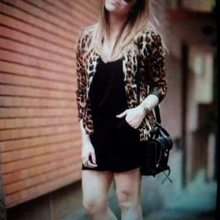 US inspired terno (leopard blazer / jumpshort) freesize / fit small to large frame