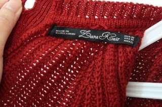 Zara cardigan knit (you can wear 2 ways)