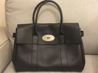 Mulberry Bayswater Black leather