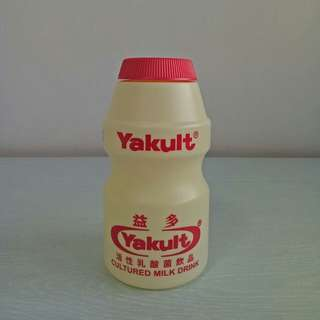 BN Yakult coin bank height 16cm