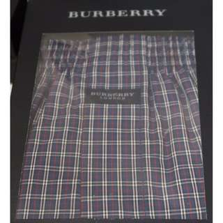 全新日本版 Burberry Boxer 深色格仔系列 [Size: M (76-84cm)] *** Made in Japan