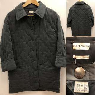 Hermes dark gray jacket size 34