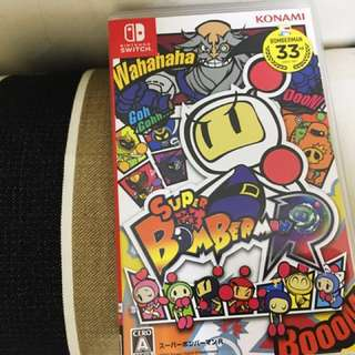 Switch Nintendo瑪莉歐超級轟炸超人