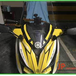 Yamaha XMax250 xmax300 250 300 xmax racing mirrors modified mount damper mount bracket