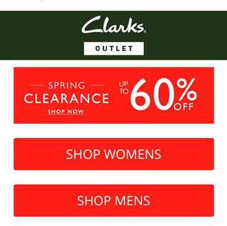 Clarks preorder is now open :))