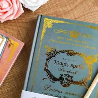 Free Postage: Vintage Magic Notebook