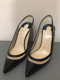 christian louboutin 高跟鞋 CL 紅底鞋 34.5