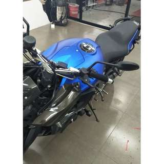 Motorbike wrap - sticker wrap