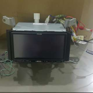 "7"" LCD DVD player Toyota Alphard OEM"