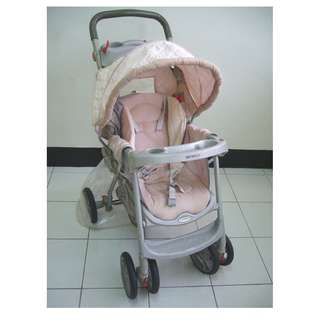 【親親小舖~免運】GARCO奇哥嬰幼兒手推車 收納迅速