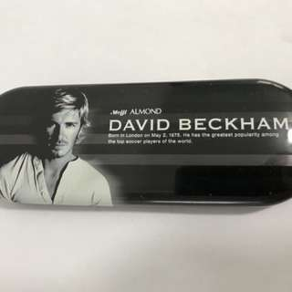David Beckham Tin Case