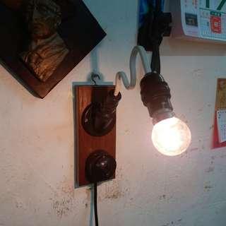 中古懷舊~70s(兩用)掛牆燈/壁燈