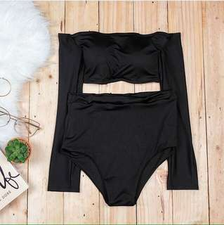 Two Piece Swimsuit (top w/ pads)
