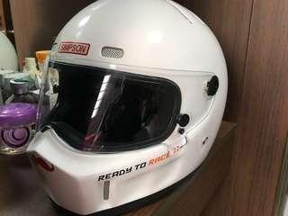fullface helmet imitation simpson ktm