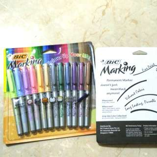 [BN] BIC Marker Pen | 12 pastel colours