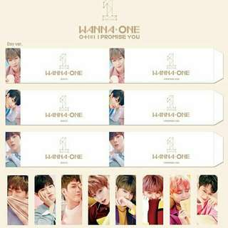WANNA ONE Cover Sleeve