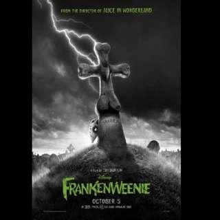 [Rent-A-Movie] FRANKENWEENIE (2012) [MCC004]
