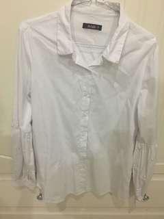 pearl white shirt