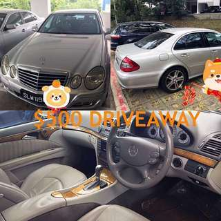Mercedes E200K For Rent