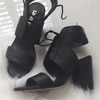 NANO - Black Cobra heels