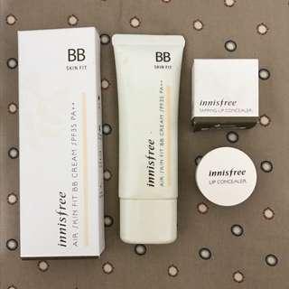 Bundling innisfree skinfit bb cream and lip concealer