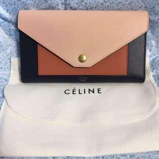 Celine large pocket wallet