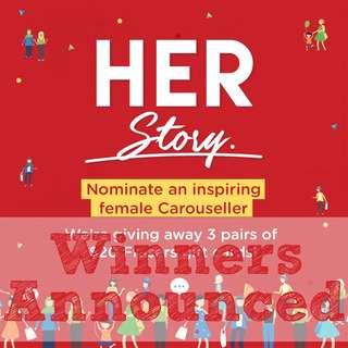 #HERStory Nominate an inspiring female Carouseller!