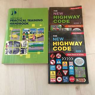 NEW HIGHWAY CODE Driving Theory Books