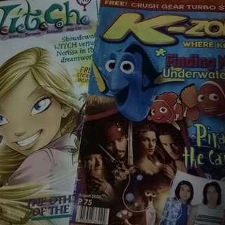 KZone and Witch Magazine