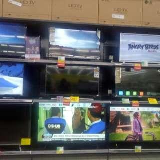 LED Tv bisa di cicil proses 3 menit free 1x angsuran