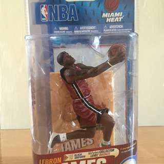 Lebron James NBA Mcfarlane Figure