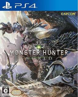 *R3 BNIB Monster Hunter World PS4