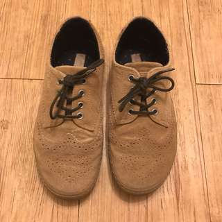 Zara lace-up casual shoes oxford shoes