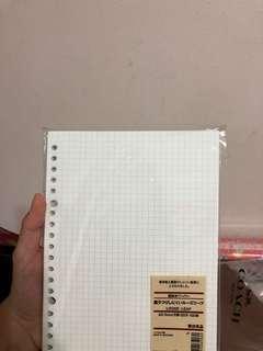 muji grid paper