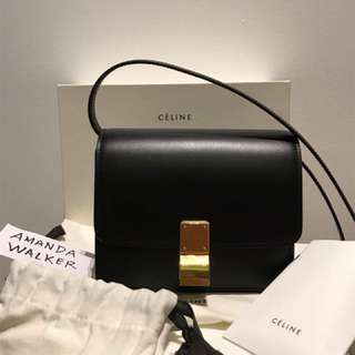 Celine small classic bag in box