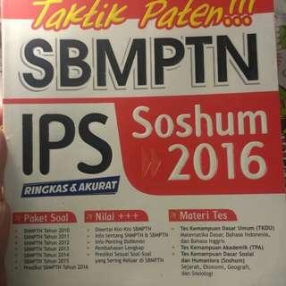 SBMPTN SOSHUM 2016