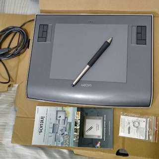 Wacom Intuos 3 Graphics Design Illustration Drawing Tablet