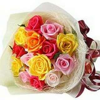 Flower Bouquet∕Hand Bouquet∕Birthday Bouquet∕Anniversary Bouquet∕Proposal Bouquet - 69F1
