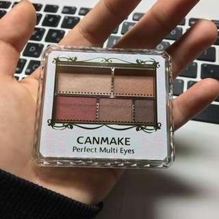 9.9成新 CANMAKE 03 眼影