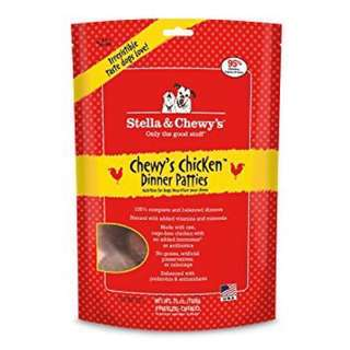 Stella & Chewy's Freeze Dried Chicken Dinner Patties Dog Food