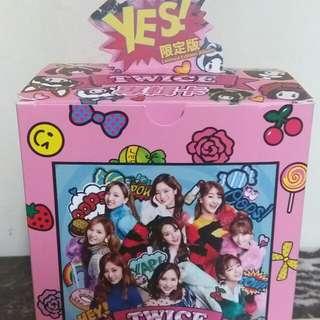Twice專輯卡 自選成員全白卡