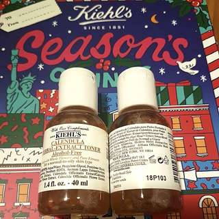 FOC NM $10.00/bottle BN kiehl's calendula herbal extract toner 40ml