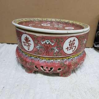 Porcelain Chinese Tea Holder
